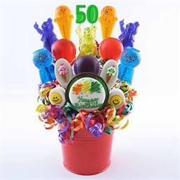 50th Birthday Centerpieces, 50th Birthday Centerpiece