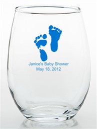 Baby Favors Ideas Glass Trinket Holder