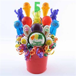 Birthday Candy Centerpieces for Tables