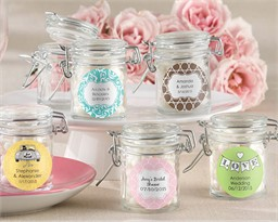 Bridal Shower Favor Jars (Set of 12)