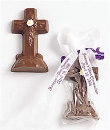 Chocolate Crosses Favors
