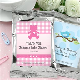 Coffee Baby Shower Favors, Personalized Baby Shower Favors