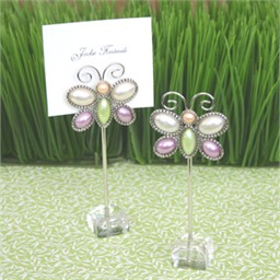 Butterflies Favors for Wedding - Set of 12 Placecard Holders