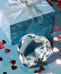 Crystal Heart Paperweight