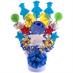 Graduation Centerpiece for Table - Lollipops