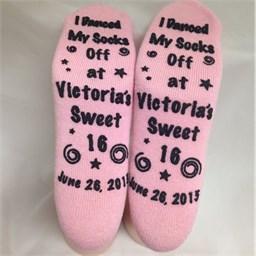 Sweet 16 Grippy Socks
