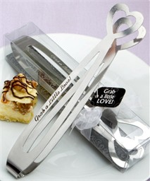 Valentine Weddings Favor Sugar Tongs